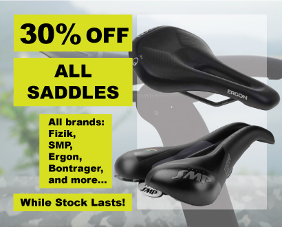 30% off All Saddles