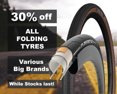 30% off Folding Tyres