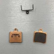 Ashima Disc Brake Pads - Hope Mini - Sintered