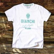 Bianchi Cafe & Cycles T-Shirt White