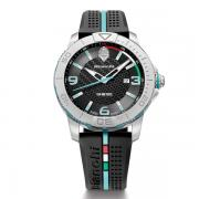 Bianchi 3 Hand Watch 43mm Black