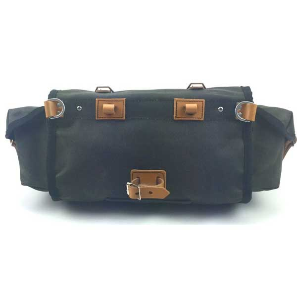 Carradice Barley Saddlebag GREEN 2