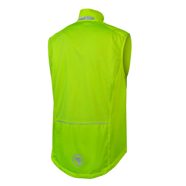 Endura Hummvee Gilet Hi Viz Yellow Rear