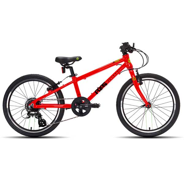 "Frog Bikes 52 Kids Bikes 20"" Wheel Red"