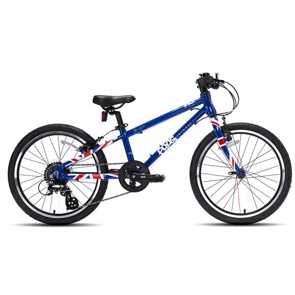 "Frog Bikes 52 Kids Bikes 20"" Wheel Union Jack"