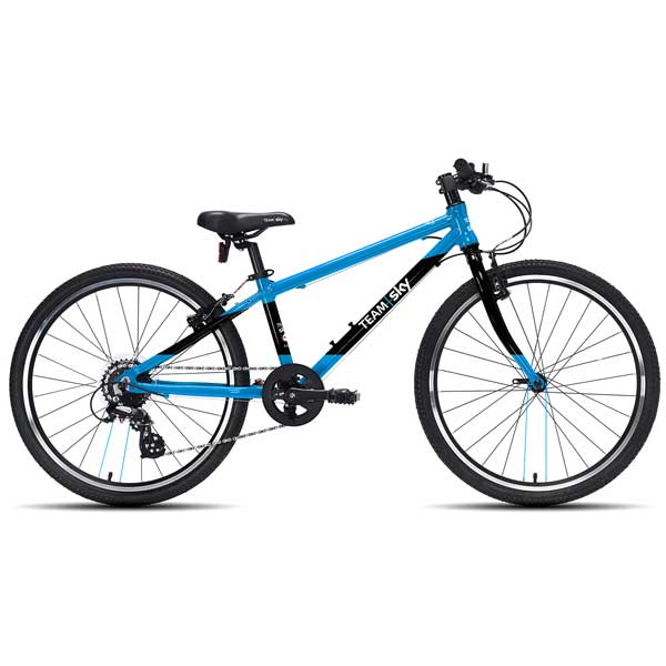 "Frog Bikes 62 Kids Bikes 24"" Wheel Team Sky"