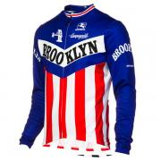 Giordana Team Brooklyn L/S Jersey Blue Red