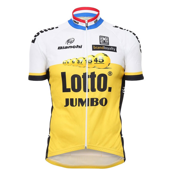 Lotto Jumbo Team SS Jersey 2016 2