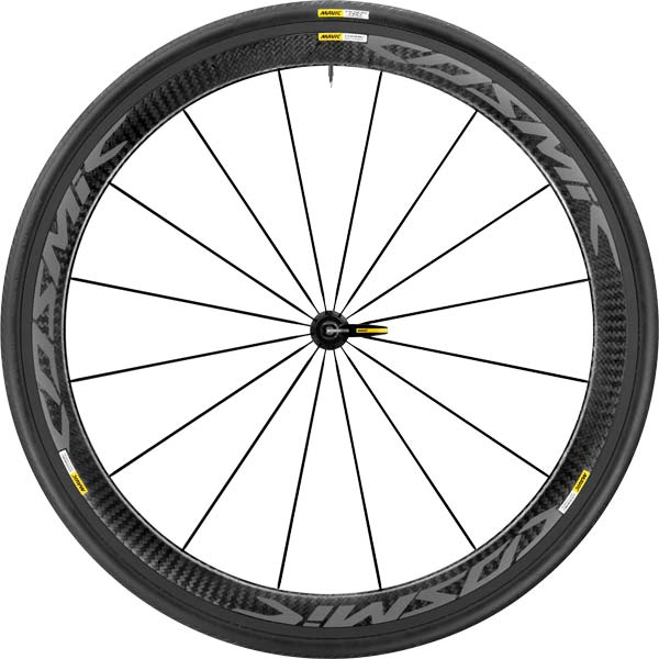 Mavic Cosmic Pro Carbon Exalith Wheelset 2017 Front
