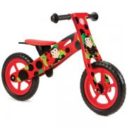 Nicko Ladybird Wooden Balance Bike