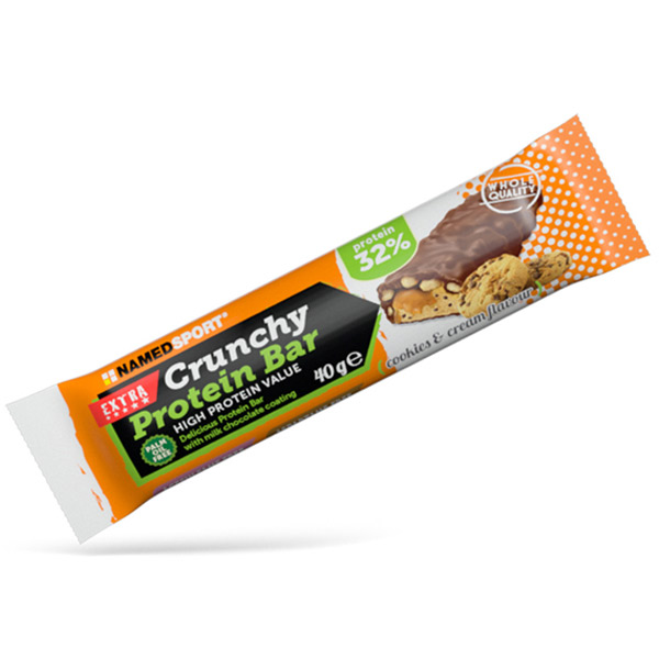 NamedSport Cookies and Cream flavour Protein Bar 40g
