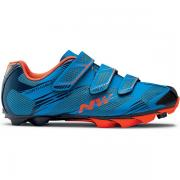 NorthWave Scorpius 2 MTB Shoe Blue/Lobster