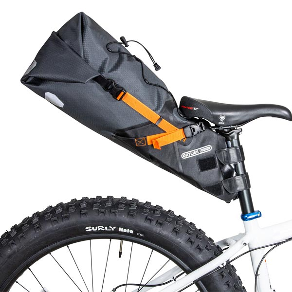 Ortlieb Bikepacking Seat Pack mounted