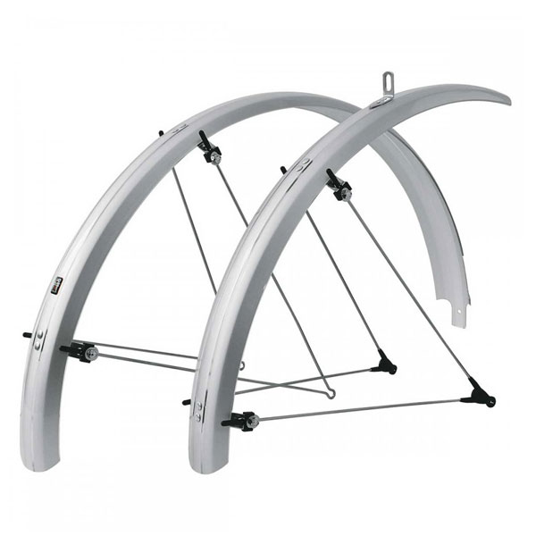 SKS Bluemels Olympic Racer Mudguards silver