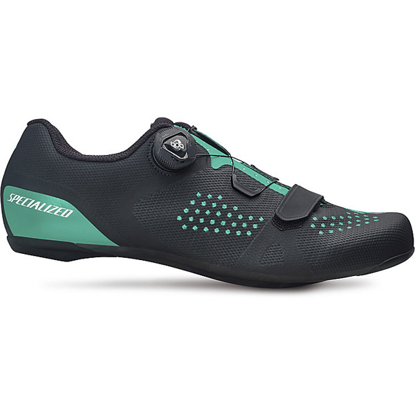 Specialized Women's Torch 2.0 Road Shoes Black/Acid Mint