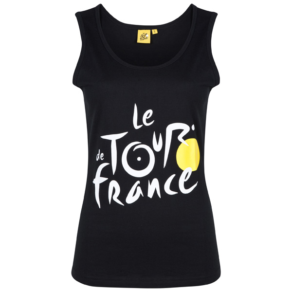 Tour De France Logo Ladies Vest Top