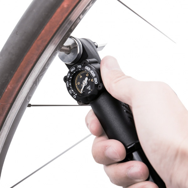 Topeak Roadie DA Mini Pump With Gauge,.