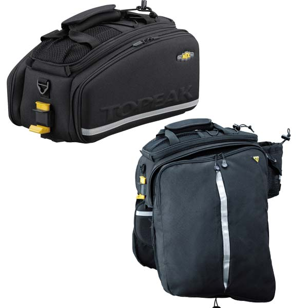 Topeak Trunkbag MTX EXP With Panniers front