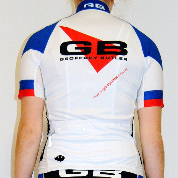 Team gbcycles Ladies Short Sleeve Jersey rear