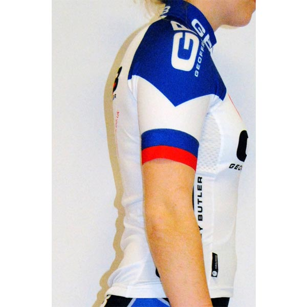 Team gbcycles Ladies Short Sleeve Jersey side