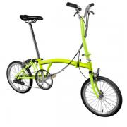 Brompton Bike H2E Model Lime Green