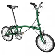 Brompton Bike M3E Model Racing Green