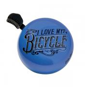 I Love My Bicycle Electra Dome Ringer Bell