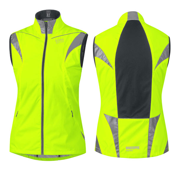 Gore Visibility Windstopper Active Shell Womens Gilet