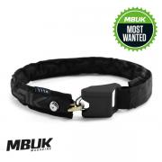 Hiplok LITE Wearable Chain Lock Black 6mm x 75cm - 24-44 inch waist