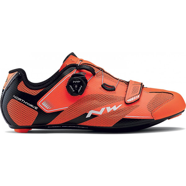 NorthWave Sonic 2 Plus Road Shoe Lobster Orange