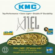 KMC X11EL Gold 11 Speed Chain
