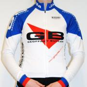 Team gbcycles Ladies Long Sleeve Jersey Front
