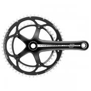 Campagnolo 2012 Centaur Deep Black 10s Compact Chainset
