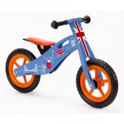 Wooden balance running bikes are the perfect way to teach a child the basics of balancing. By using their feet to balance and push themselves along there is no need for stabilisers. Once your child masters the basics on their balance bike they can start t