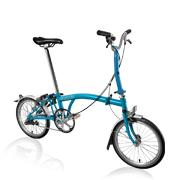 "<div style=""text-align: left;""><span style=""font-size: small;"">A Brompton is the perfect bicycle for the city.</span><br /><span style=""font-size: small;""><br />It folds down to a portable, practical size so can be taken on other forms of public and private transport. It can also be taken inside (homes, offices, bars) so it is a lot less likely to be stolen.</span><br /><span style=""font-size: small;""><br />Its ride position and agility are more than a match for conventional bicycles. Small wheels mean fast acceleration from red lights and increased manoeuvrability through busy streets.</span></div>
